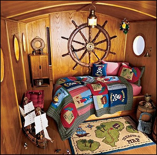 Best Decorating Theme Bedrooms Maries Manor Pirate Ship Beds With Pictures