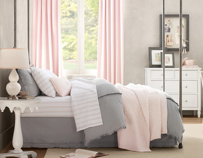 Best Pink And Gray Bedroom Wt Do U Think Nersian S With Pictures