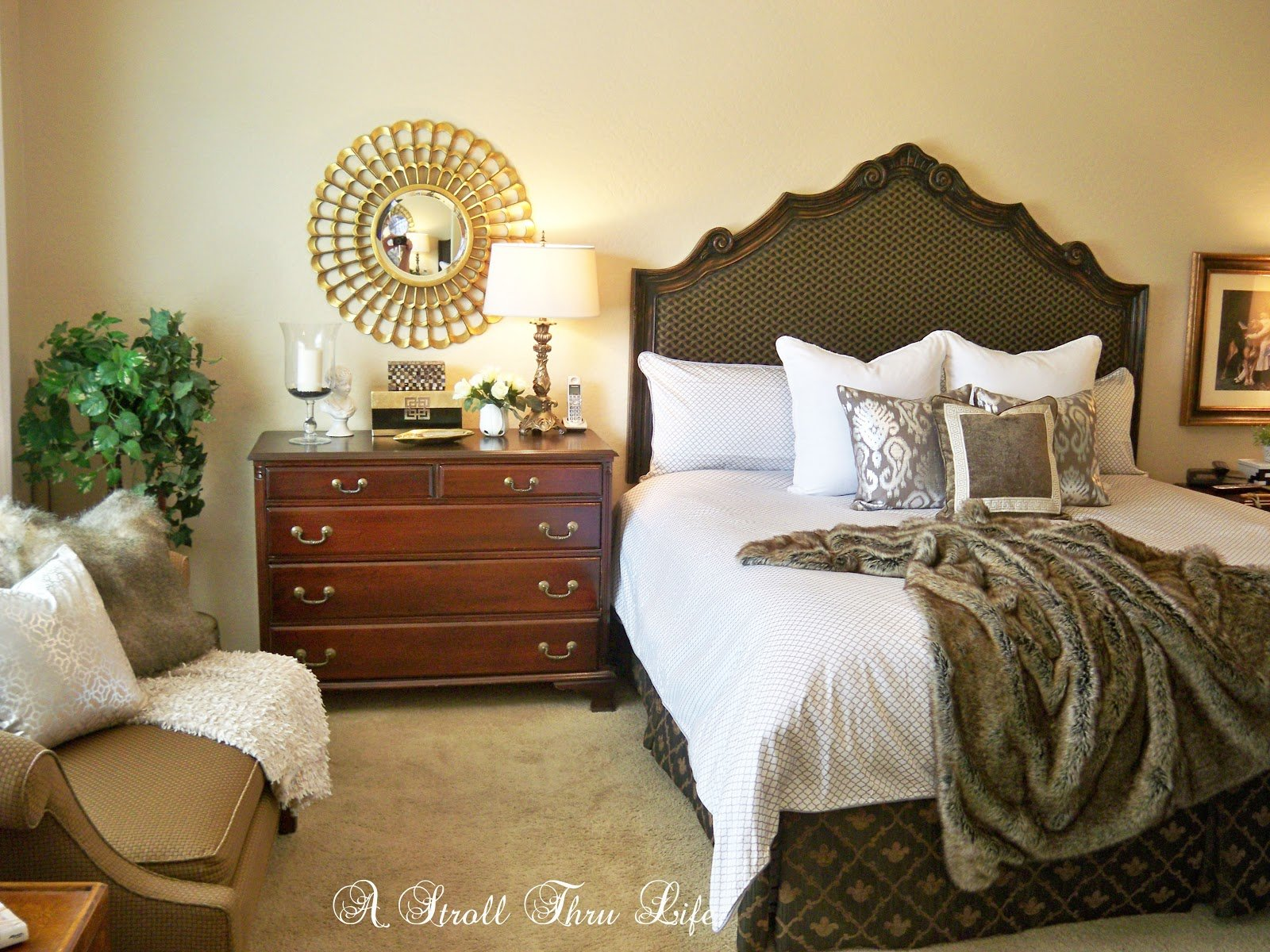 Best A Stroll Thru Life New Bedding For The Master Bedroom With Pictures