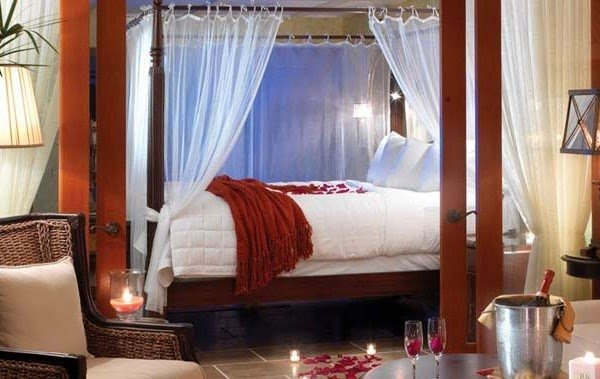 Best Modern Furniture 2014 Romantic Valentine's Day Bedroom With Pictures