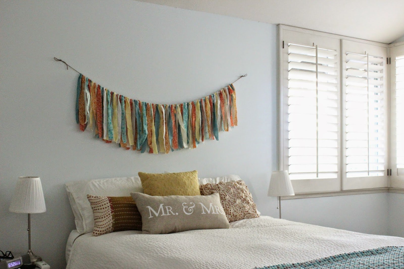 Best Changs And Changes Bedroom Fabric Garland Diy With Pictures