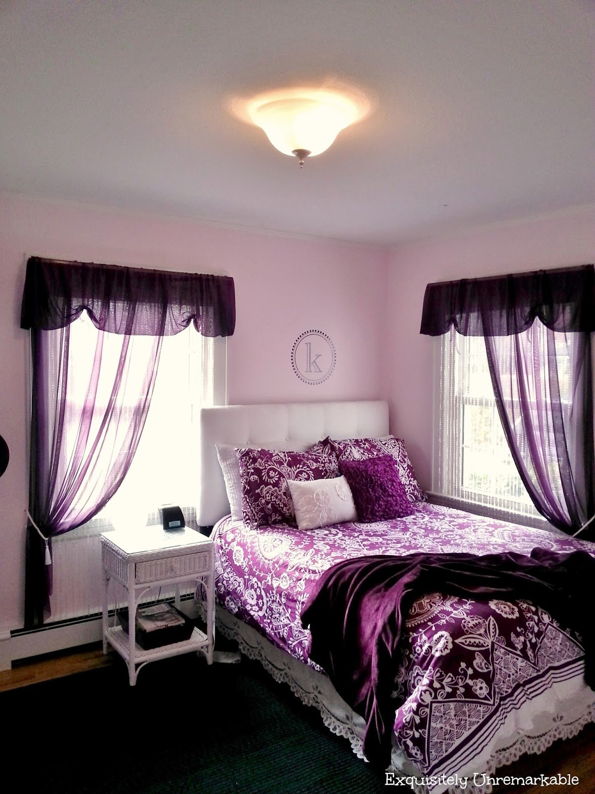 Best Pretty In Purple T**N Bedroom Exquisitely Unremarkable With Pictures