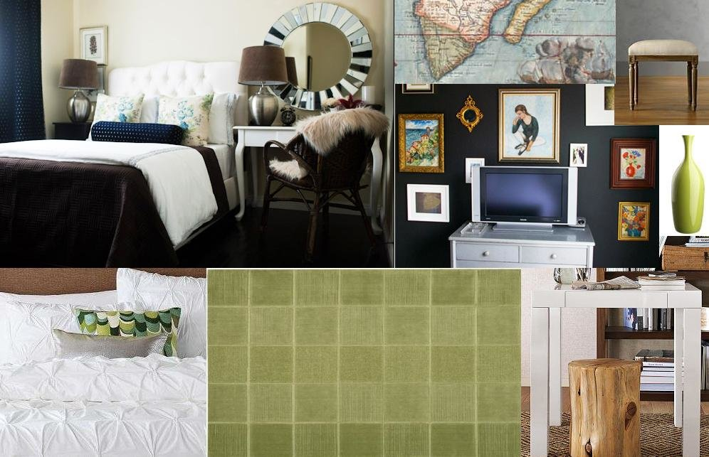 Best Chasing Davies Guest Bedroom Mood Boards Wanted Navy Walls With Pictures