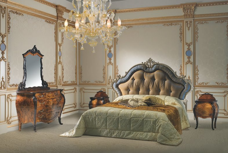Best Rococo Style Classic Bed Room French Design With Pictures