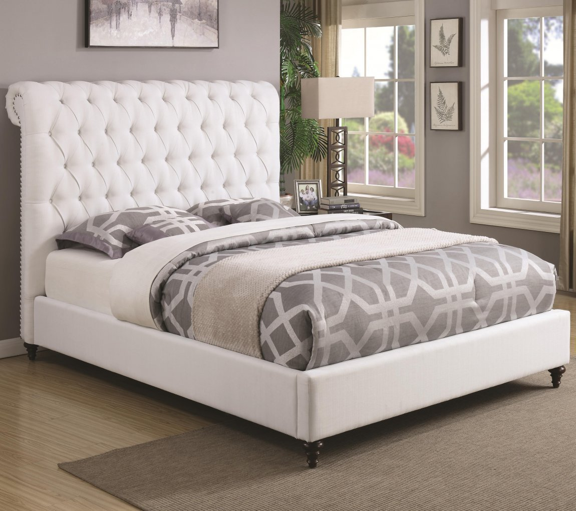 Best Upholstered Bedroom Furniture Diy Frame And Headboard With Pictures