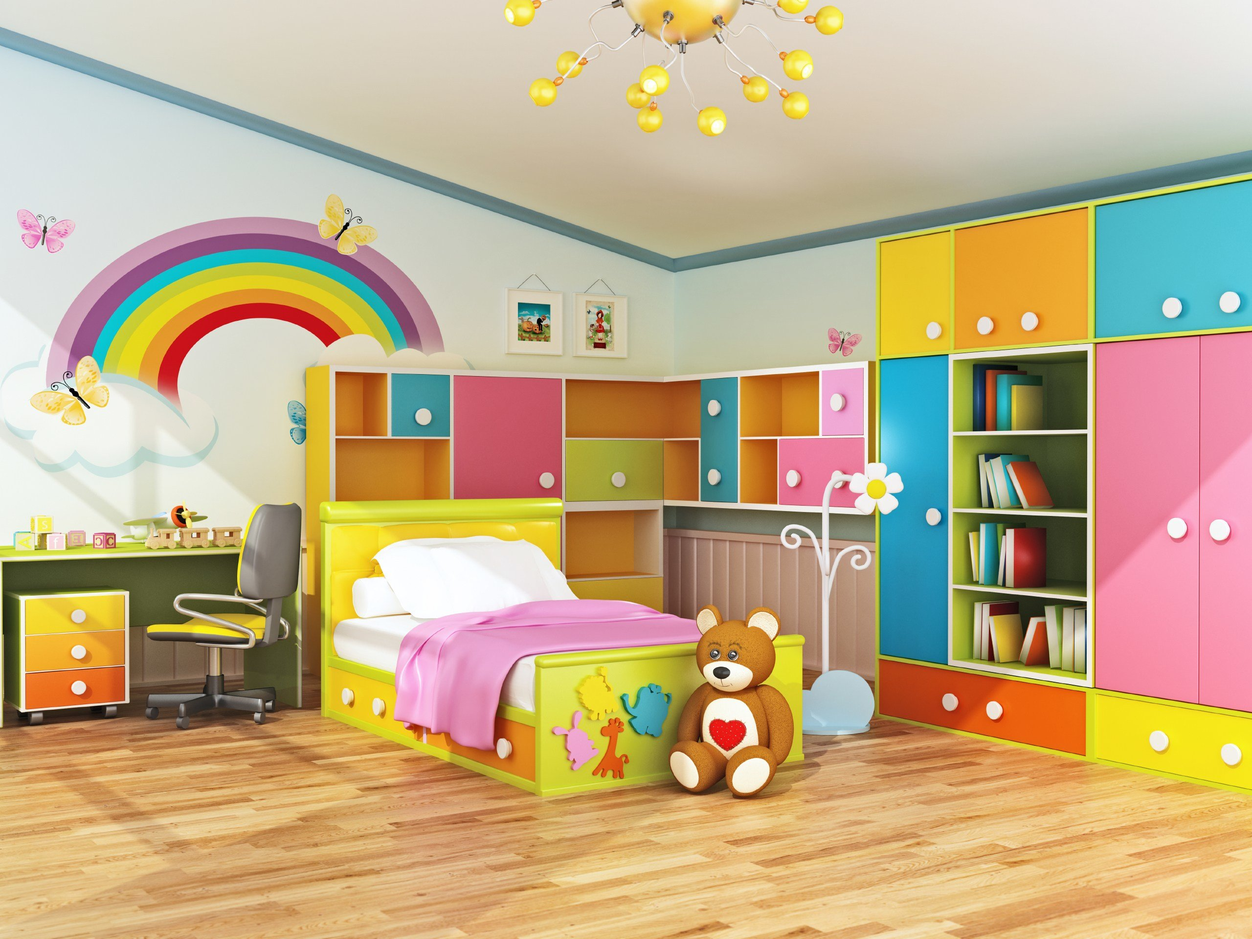 Best Plan Ahead When Decorating Kids Bedrooms Rismedia S With Pictures