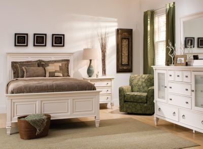 Best Somerset 4 Pc Queen Bedroom Set Alabaster Raymour With Pictures