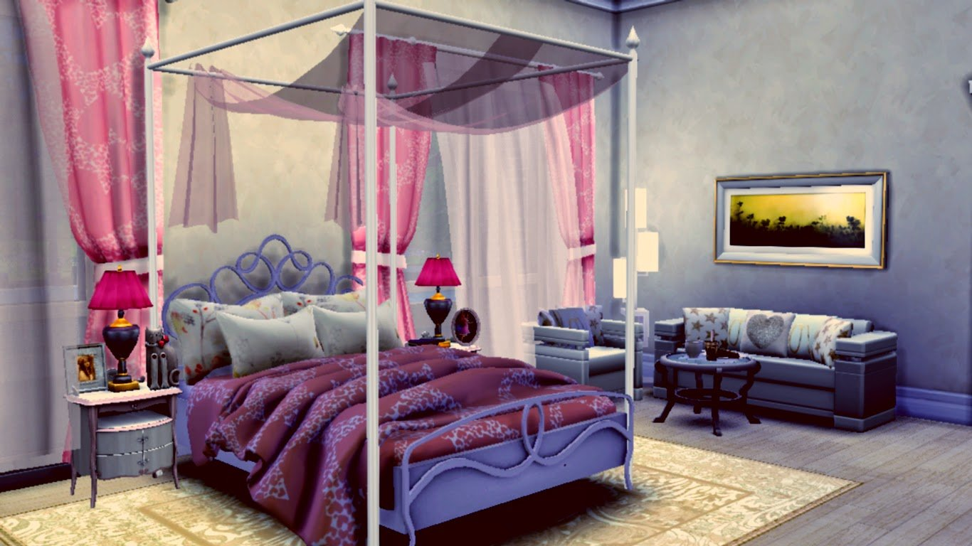 Best Sims 4 Room Downloads Catchy Sweet Bedroom Sanjana Sims Studio With Pictures