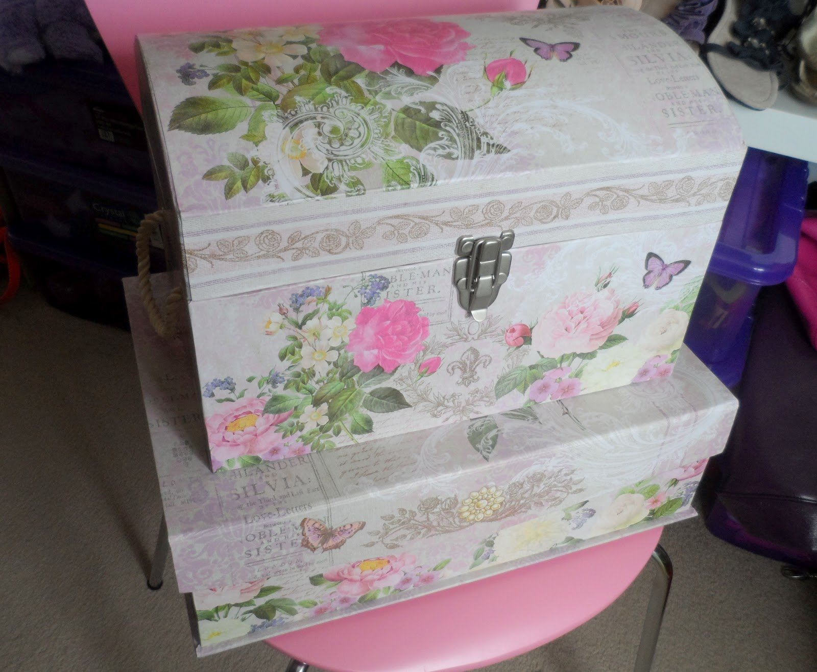 Best Pretty Storage Boxes Livememory Storage Bins Stackable With Pictures