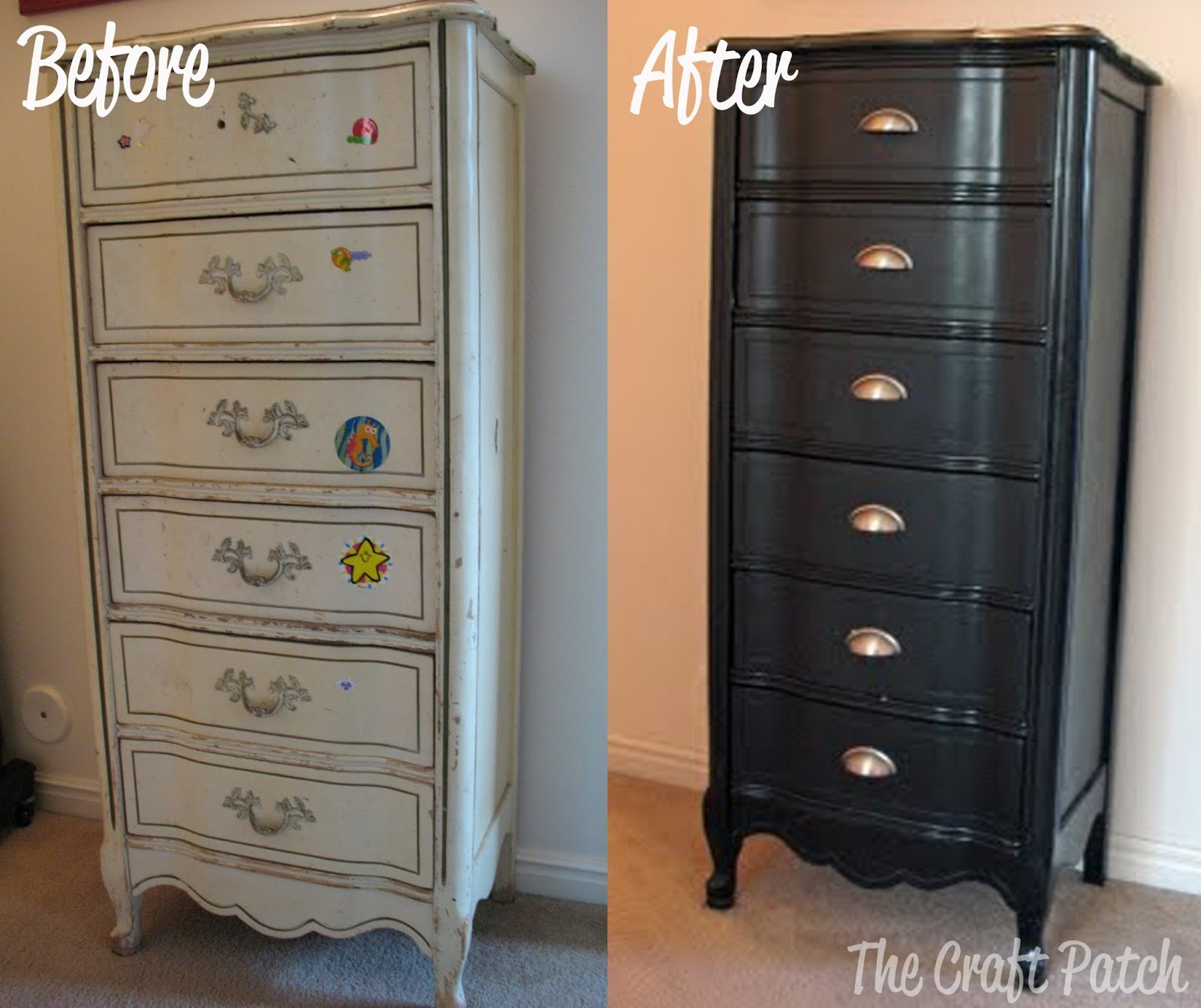 Best Furniture Redo The 5 Dresser Thecraftpatchblog Com With Pictures