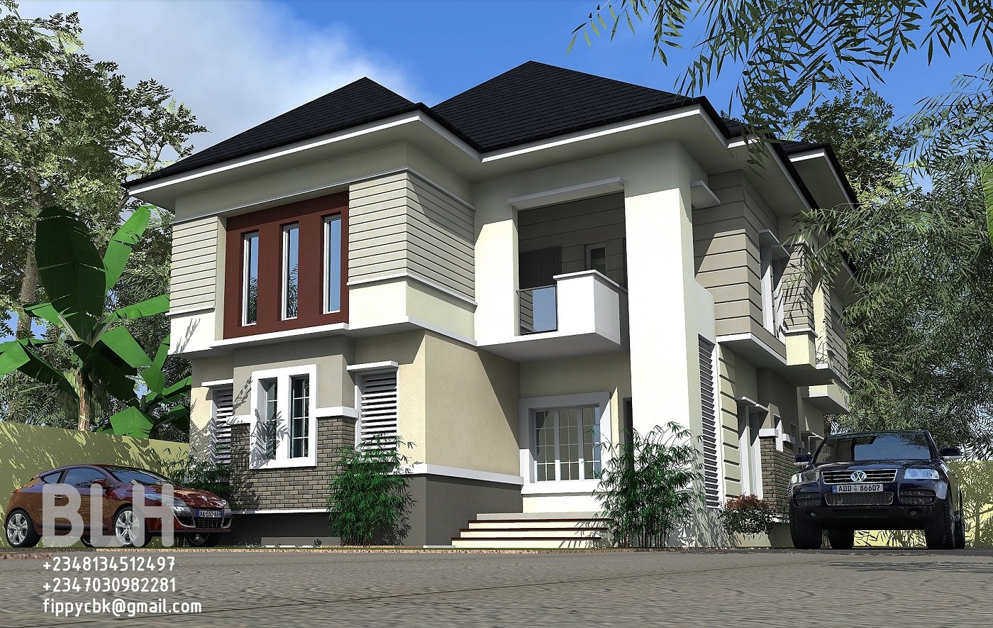 Best Architectural Designs By Blacklakehouse 4 Bedroom Duplex Owerri With Pictures