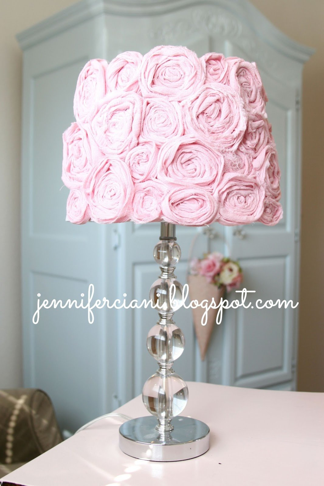 Best Shabby Chic Lamp Shade Simply Ciani With Pictures