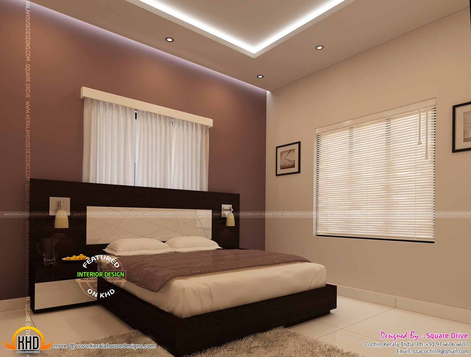 Best Bedroom Interior Designs Kerala Home Design And Floor Plans With Pictures