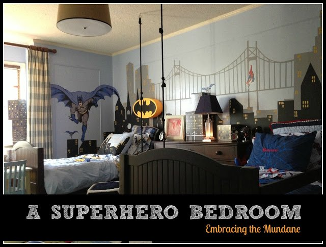 Best Embracing The Mundane A Superhero Bedroom With Pictures