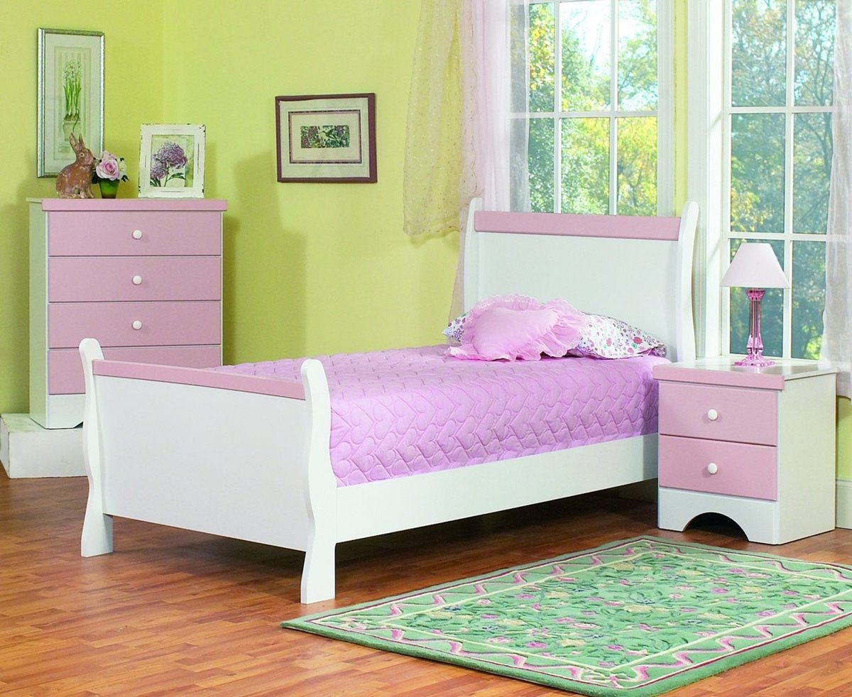 Best Purple And White Furniture Sets Kids Bedroom Design Home With Pictures