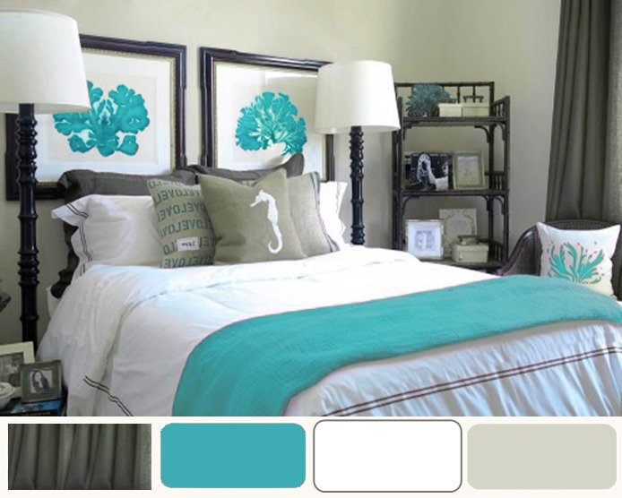 Best Turquoise Bedroom Accessories 2017 Grasscloth Wallpaper With Pictures
