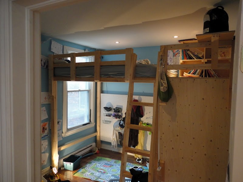 Best Jill Is Dreaming Of Diy Loft Bed Show Off With Pictures