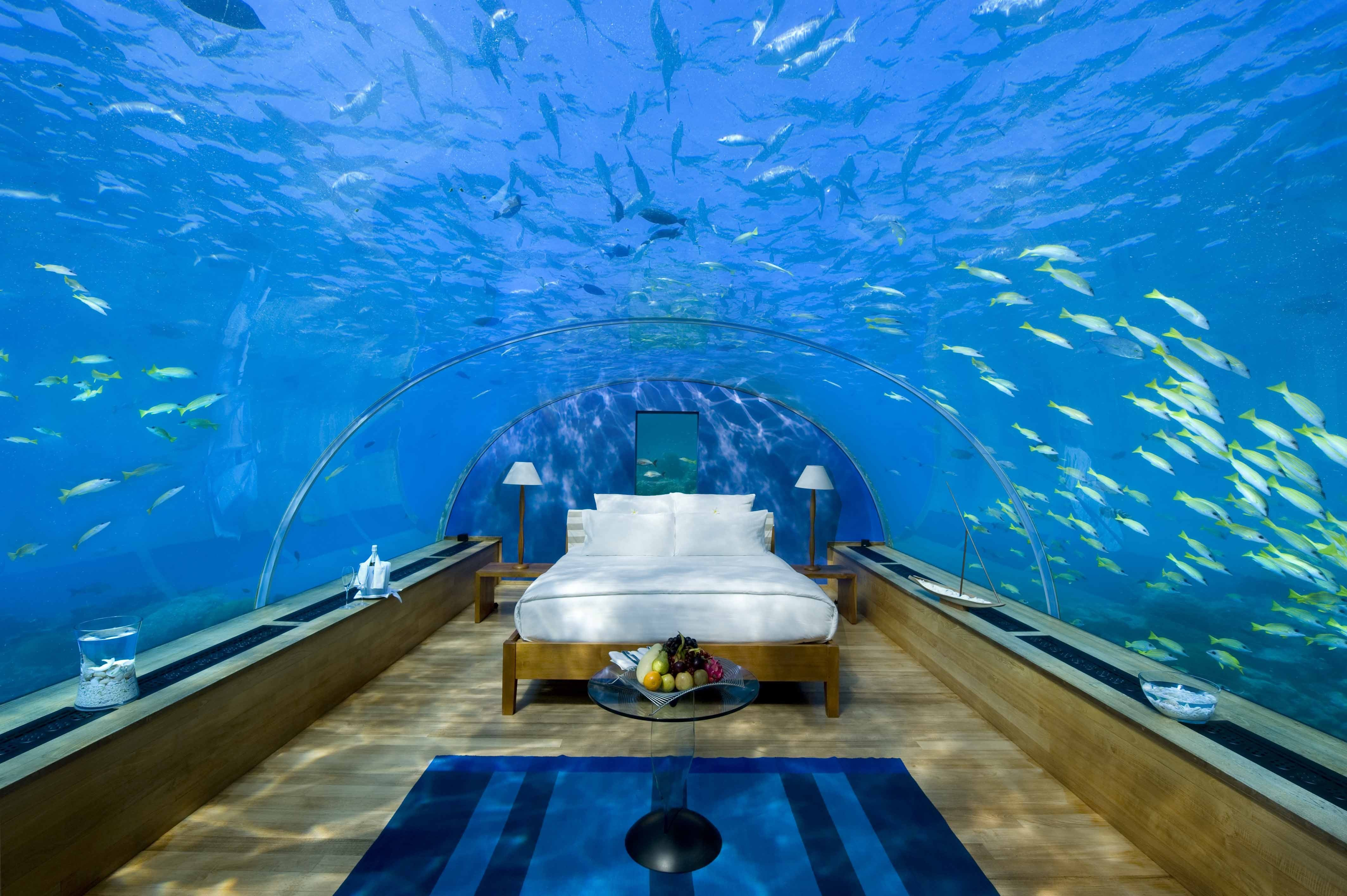 Best Underwater Hotels In The World Fiji Dubai Florida With Pictures