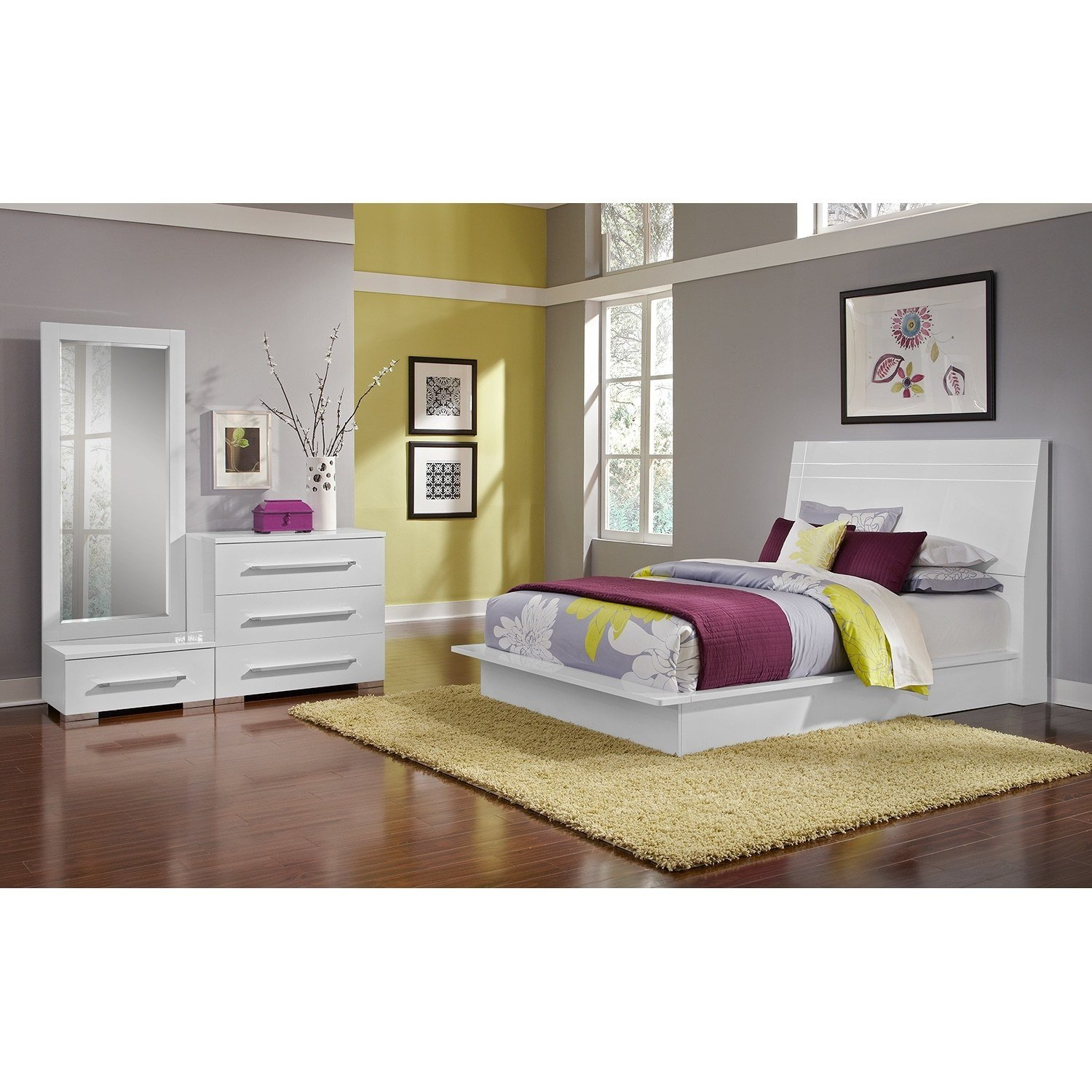 Best Dimora White Ii Bedroom 5 Pc King Bedroom Alternate With Pictures