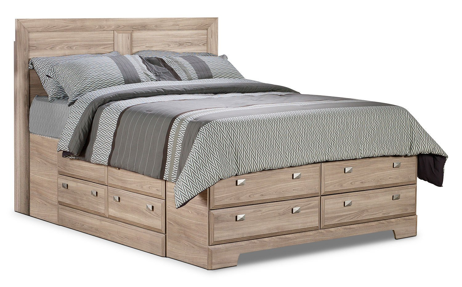 Best Yorkdale Light Queen Storage Bed The Brick With Pictures