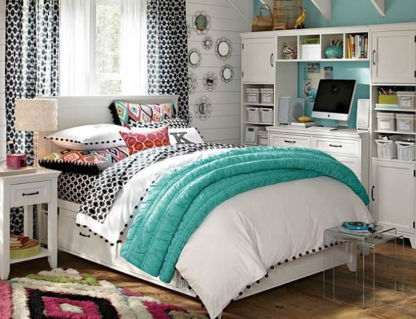 Best 55 Creatively Inspiring Design Ideas For Teenage Girls Rooms With Pictures