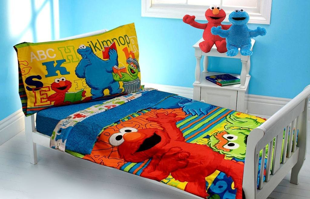 Best Sesame Street Decorations For Kids' Bedroom With Pictures