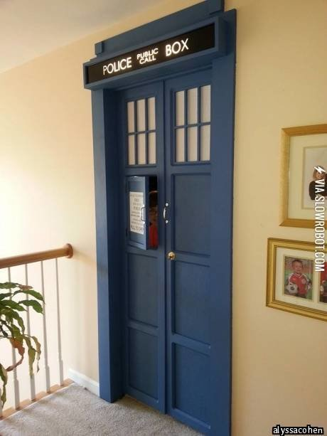 Best Tardis Bedroom Door With Pictures