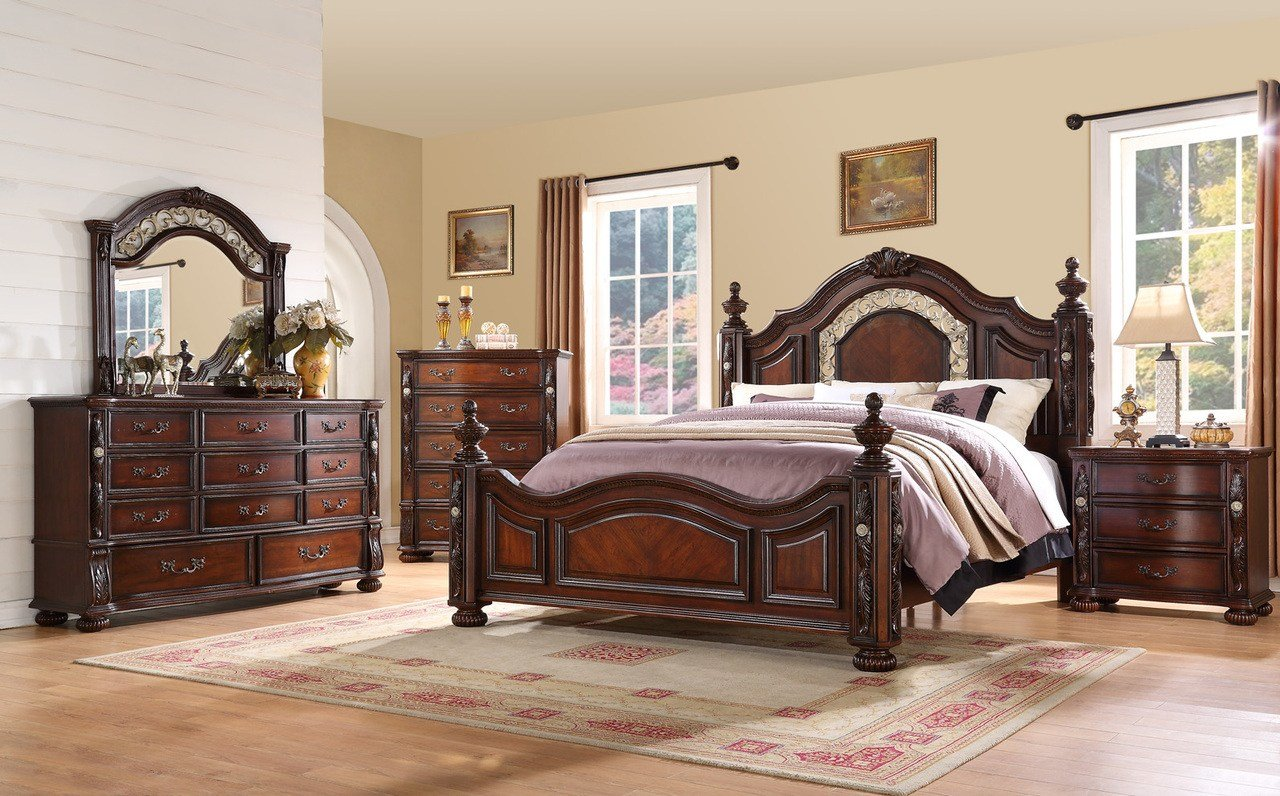 Best Fairfax Verona 4 Pc Bedroom Set Bedplanet Com With Pictures