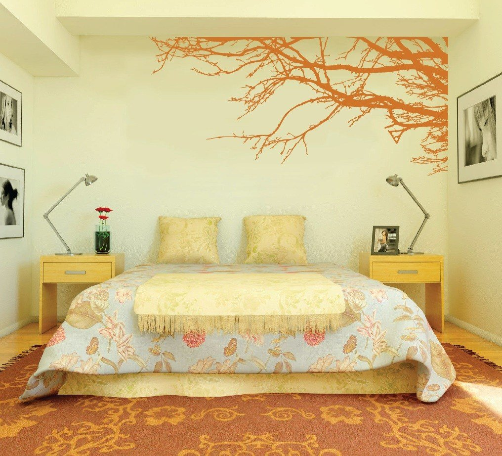 Best Large Wall Tree Nursery Decal Oak Branches 1130 With Pictures