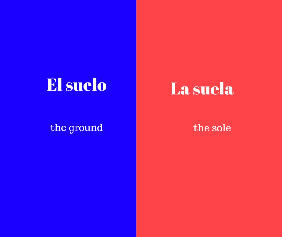 Best Spanish Words Which Change The Meaning When Changing The With Pictures
