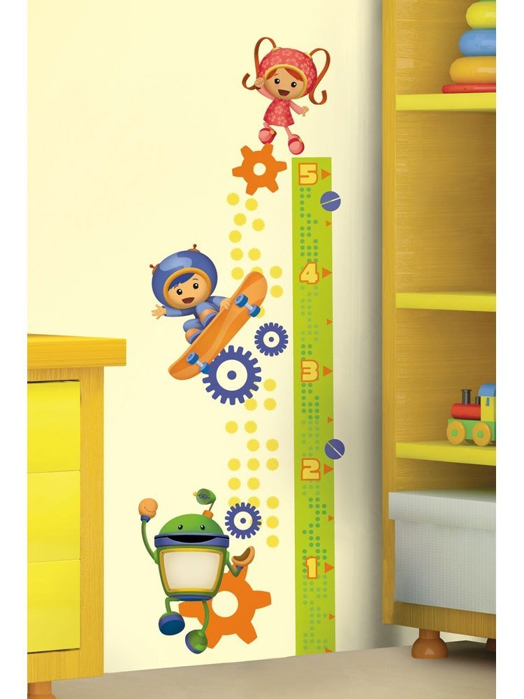 Best Team Umizoomi Growth Chart Large Wall Accent Decal Set With Pictures