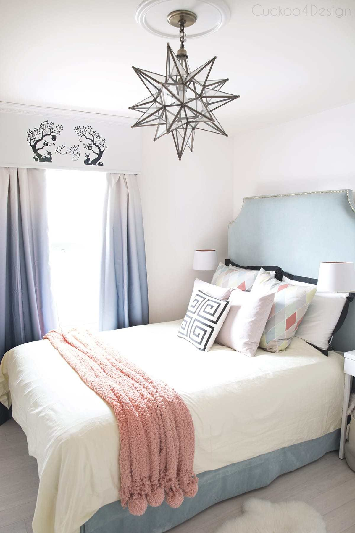 Best Teal Turquoise Coral And Yellow Girls Bedroom With Pictures