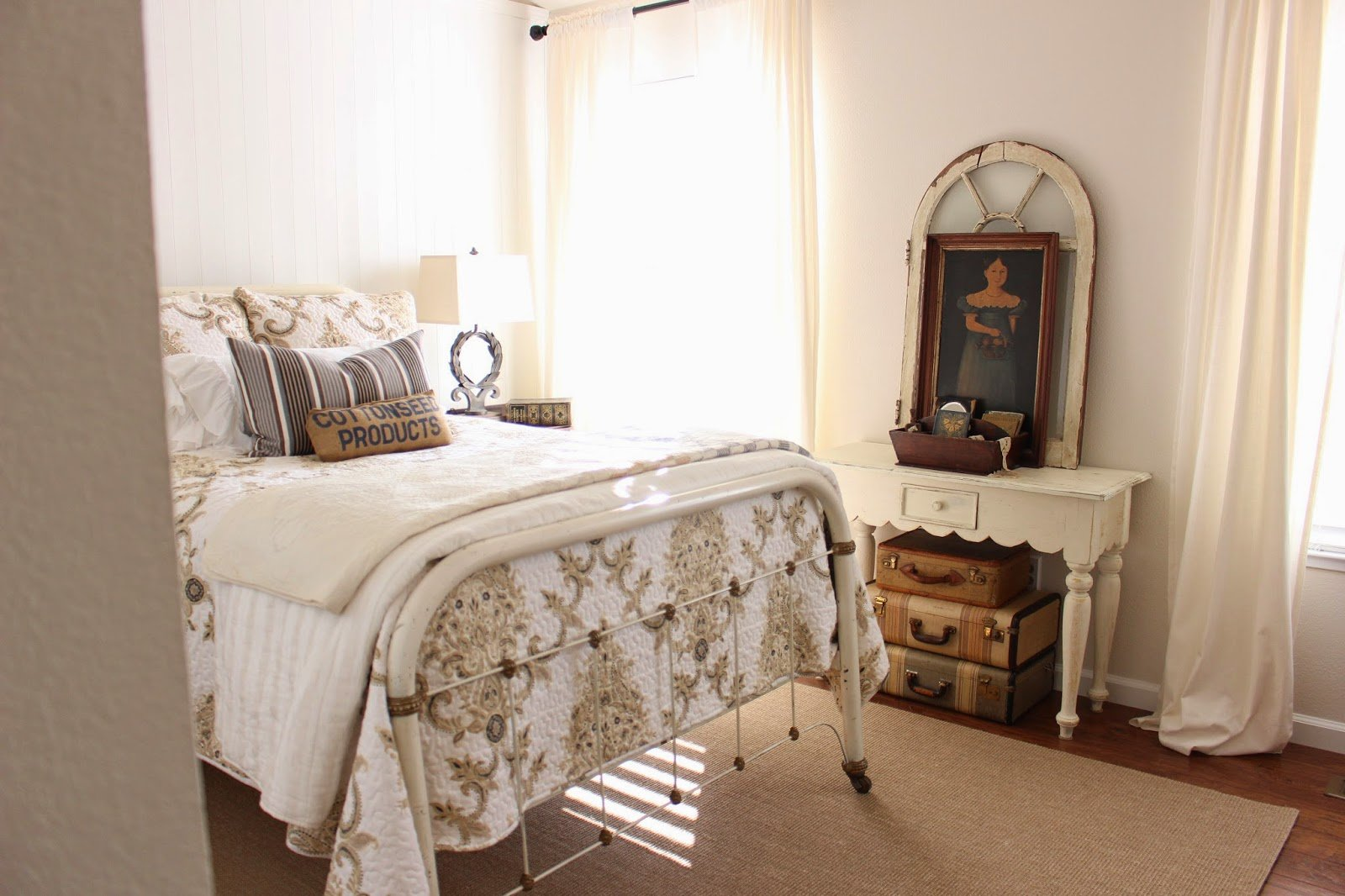 Best Sweet Cottage Dreams Farmhouse Style Guest Room With Pictures