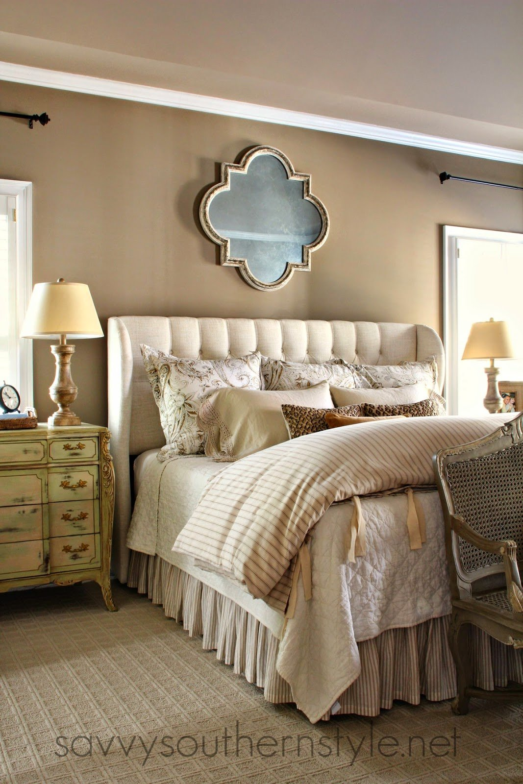 Best Savvy Southern Style Master Bedroom Source List With Pictures