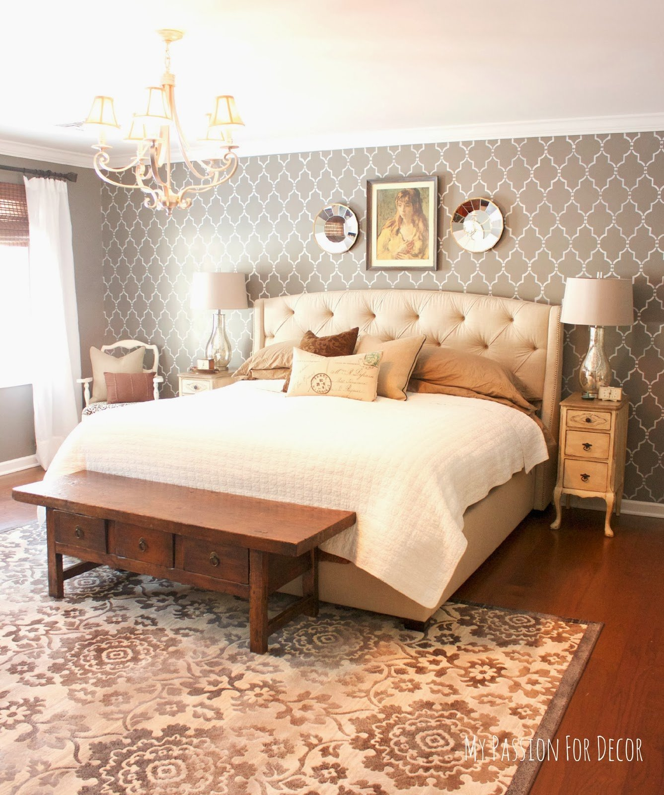 Best My Passion For Decor Master Bedroom Makeover Using With Pictures