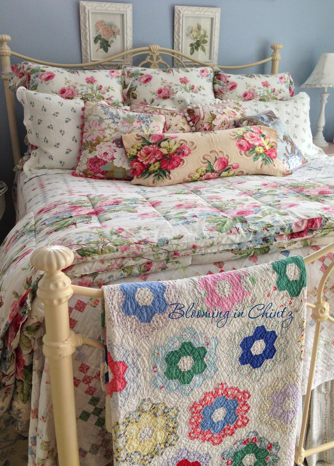 Best Blooming In Chintz Bedroom Decorating With Pictures