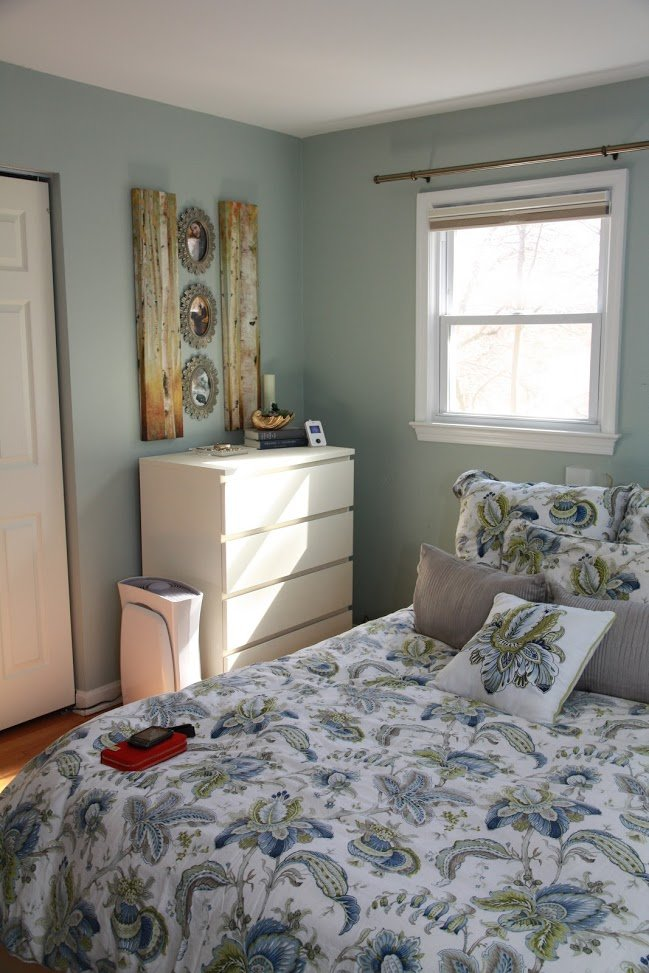 Best Food Laughter And Happily Ever After Master Bedroom Chalk Paint On An Ikea Laminate Dresser With Pictures