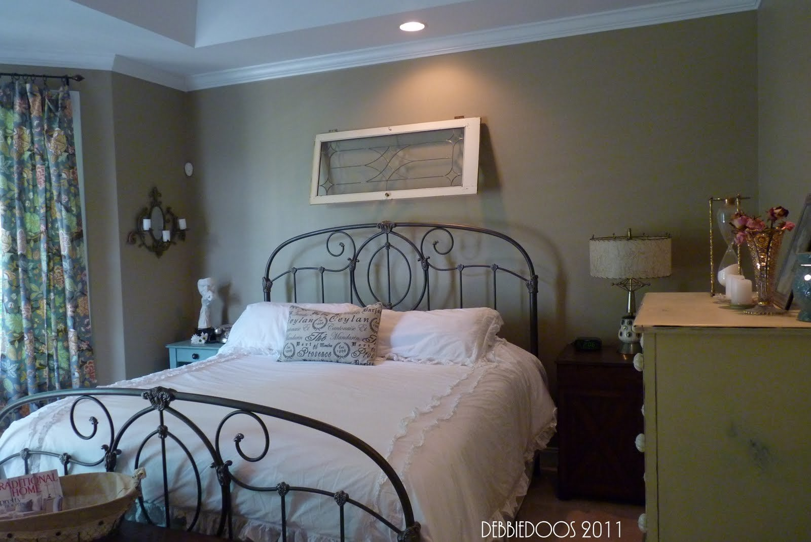 Best Shabby Chic Eclectic Style Master Bedroom Office Debbiedoos With Pictures