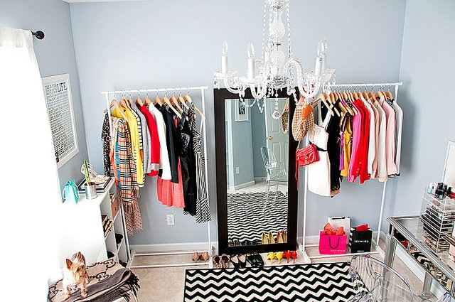 Best Mix And Chic Makeover Miracle Closet Turned Office And With Pictures