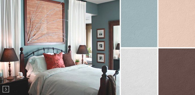 Best Bedroom Color Ideas Paint Schemes And Palette Mood Board With Pictures