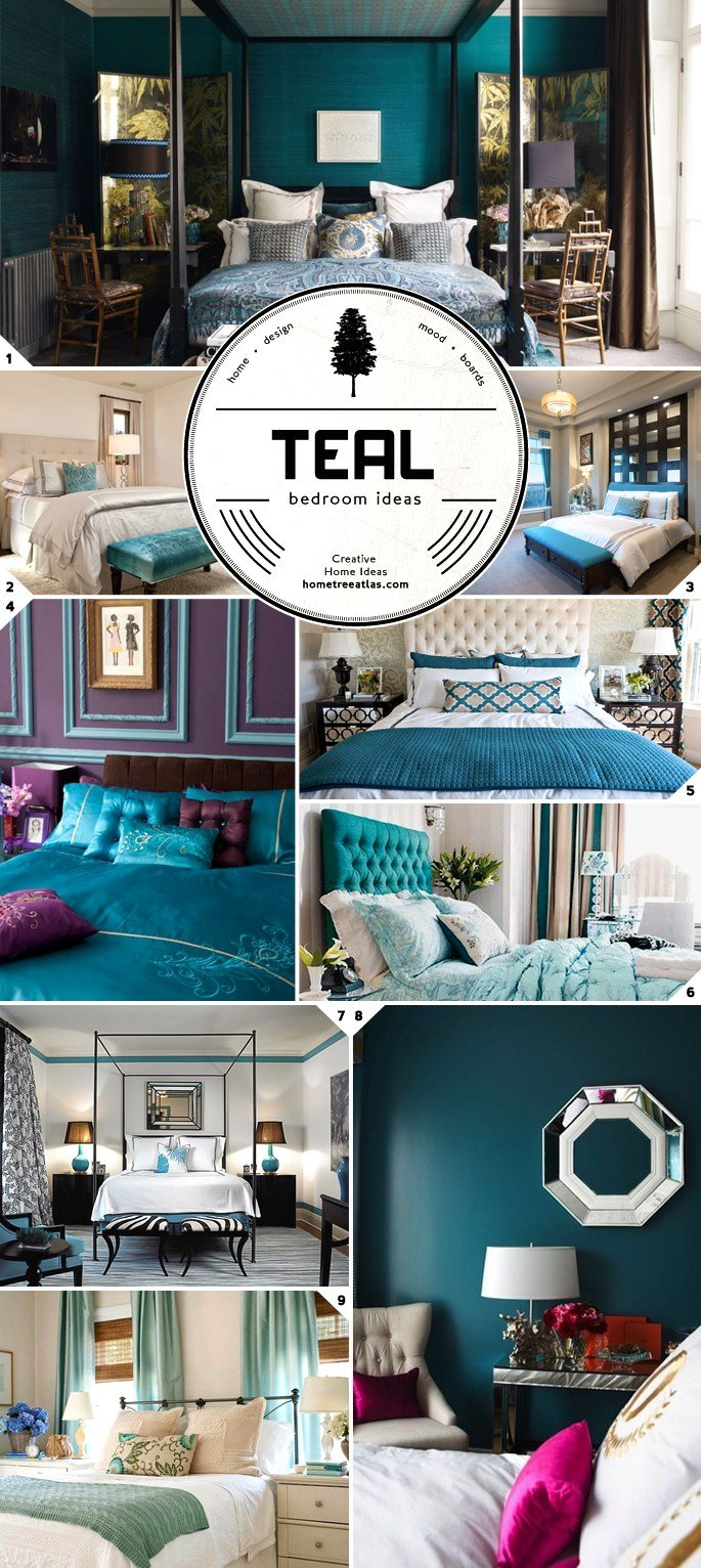 Best Color Choice Teal Bedroom Ideas Home Tree Atlas With Pictures