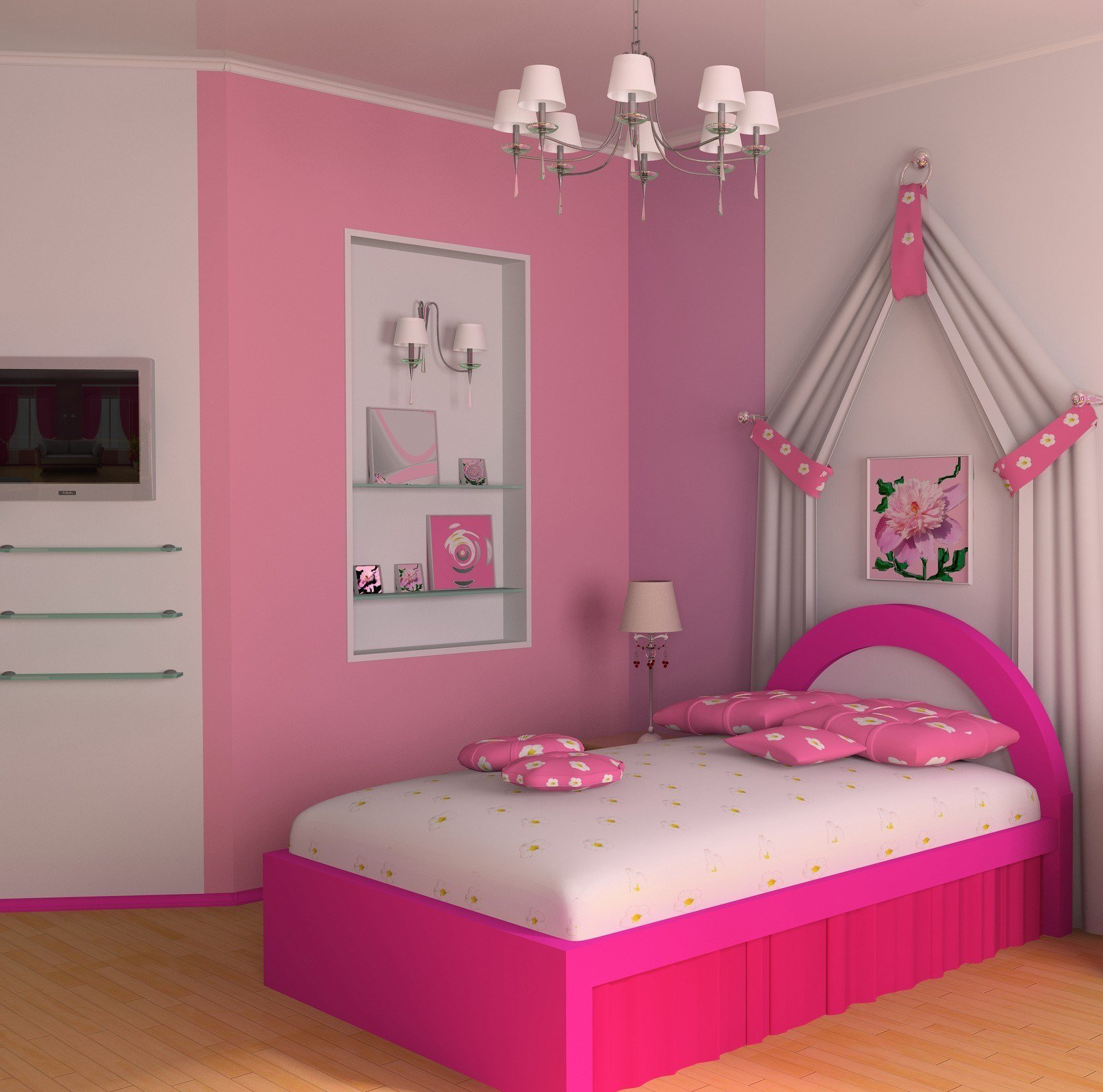 Best Ideas For Decorating A Girl Bedroom Furniture Theydesign With Pictures