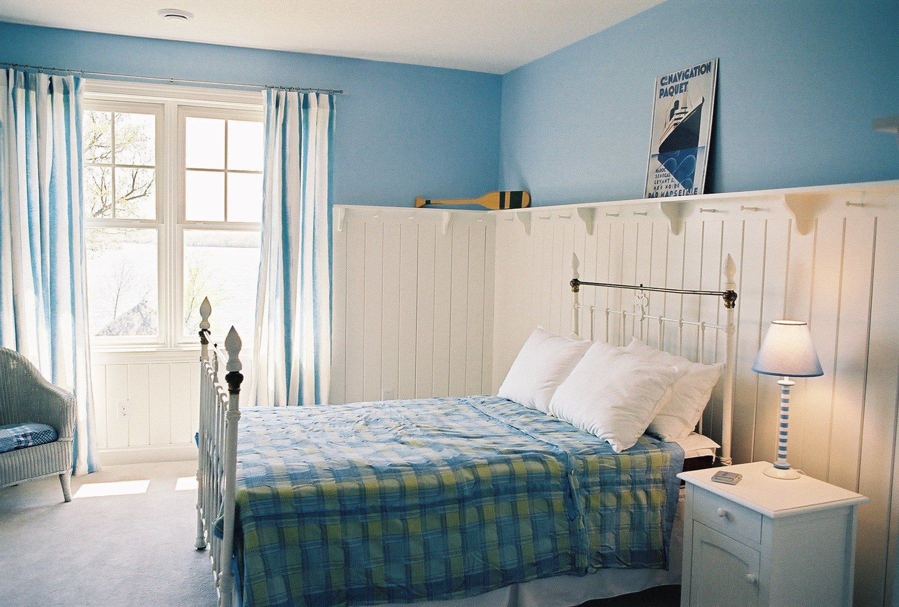 Best 16 Beautiful Examples Of Light Blue Walls In A Bedroom This Designed That With Pictures