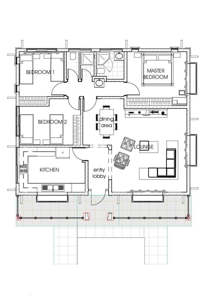Best House Plans In Kenya 3 Bedroom Bungalow House Plan With Pictures