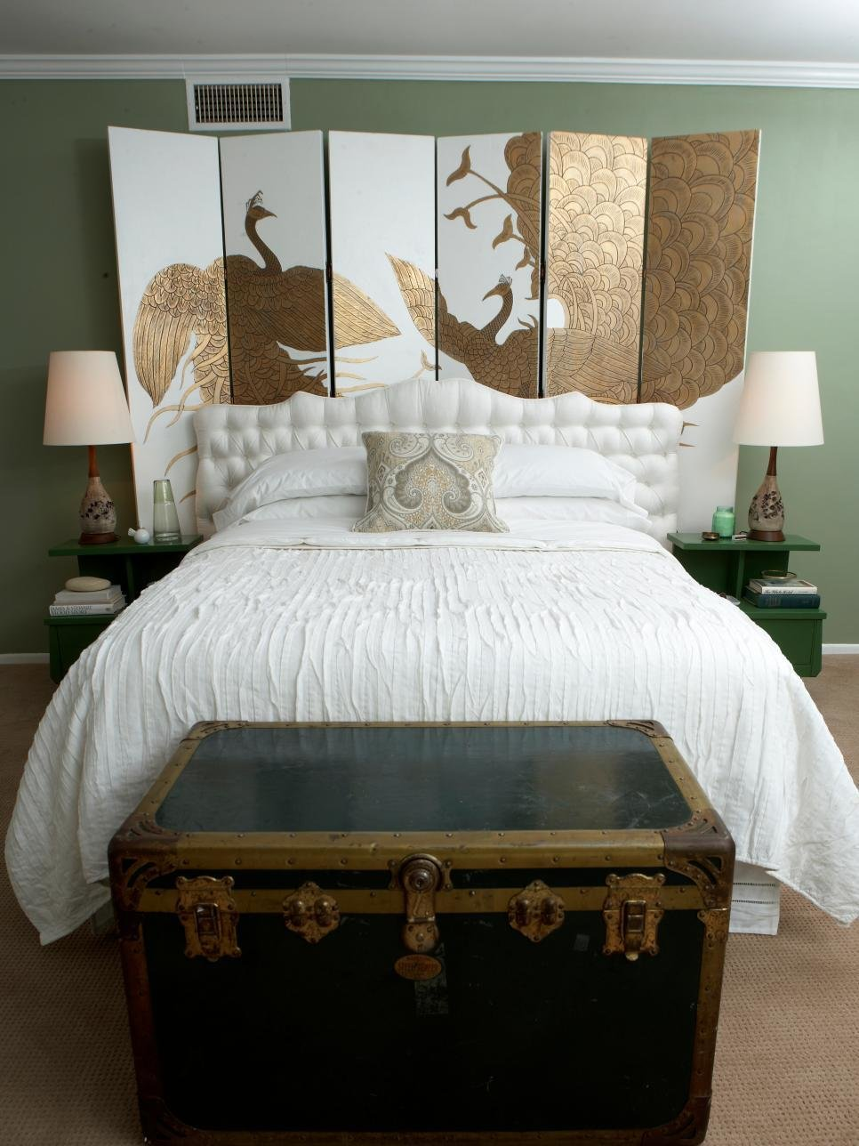 Best Salvage Items Turned Into Bedroom Headboards Diy With Pictures