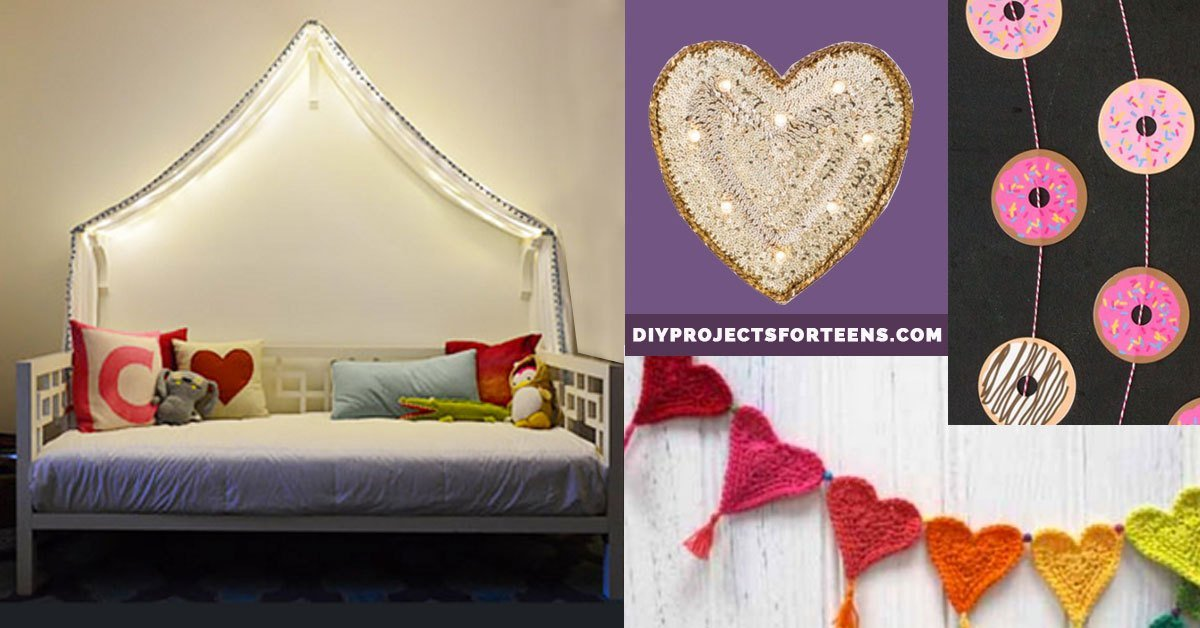Best 37 Insanely Cute T**N Bedroom Ideas For Diy Decor Crafts For Teens With Pictures
