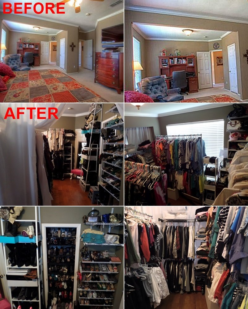 Best Meg Made Creations Turn A Room Into A Closet With Pictures