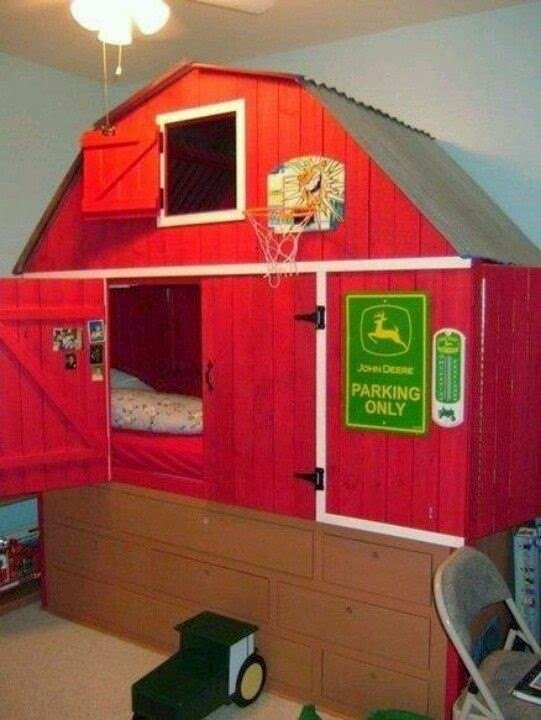 Best All Things Beautiful In Life Kids Room With Red Barn Bed With Pictures