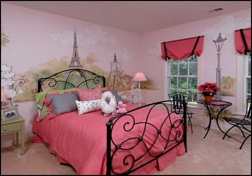 Best Pink Poodles Paris Style Bedroom Decorating Paris Style Decorating Ideas French Theme Paris With Pictures