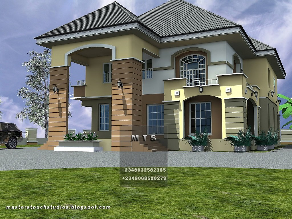 Best 4 Bedroom Duplex Modern And Contemporary Nigerian Building Designs With Pictures